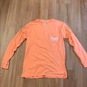 Victoria Secret Pink Long Sleeve Shirt.